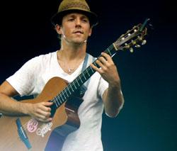 Jason Mraz faz show em Fortaleza no dia 04 de fevereiro.