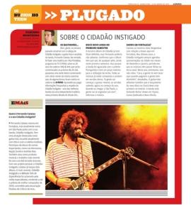 Coluna Plugado do Jornal O Povo (clique para ampliar).