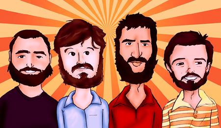 Los Hermanos: certamente, a banda mais influente do Brasil nos últimos 10 anos.
