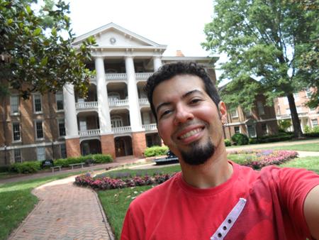 William Peace University: minha casa nas próximas semanas.