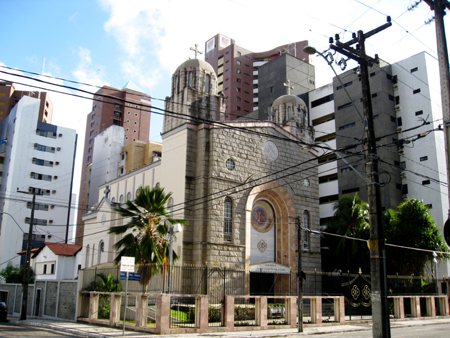 The Church of Lebanon in Fortaleza, Brazil.