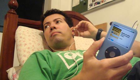 Esperanta Retradio en mia MP3-ludilo.