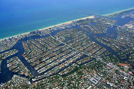 """Eis porque Fort Lauderdale é conhecida como """"A Veneza Americana""""."""