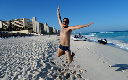 Segundo dia em Cancún: arriba muchacho!