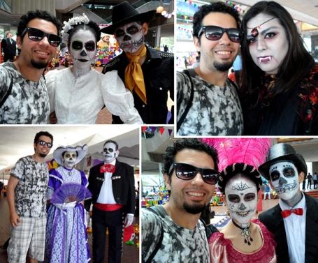 """""""Dia de Muertos"""": uma das festas mais importantes do calendário Mexicano. (Clique sobre a foto para ampliá-la.)"""