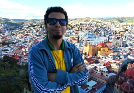 Em um dos muitos mirantes de Guanajuato: parece uma maquete, mas não é! (Clique sobre a imagem para ampliá-la)