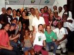 Com amigos da Associação Cubana de Esperanto. (clique sobre a foto para ampliá-la)