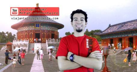 """Assim que enviei meu vídeo pra China, publiquei esta foto-montagem no Facebook pra acionar a """"lei da atração"""", acho que funcionou... ;-)"""